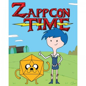ZAPPCON TIME by Caleb Paullus
