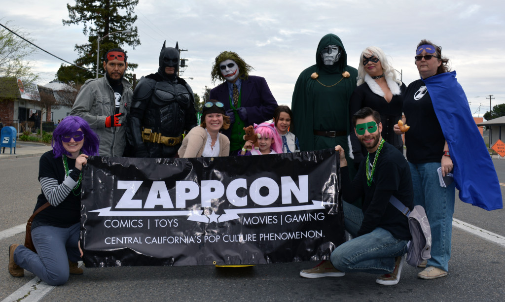 ZAPPCON at the Fresno Mardi Gras Parade